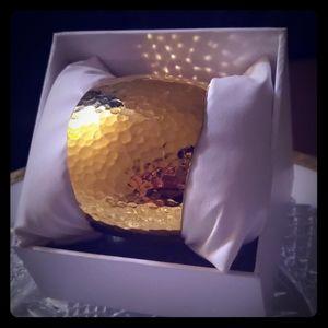 Gold Toned Cuff Piece